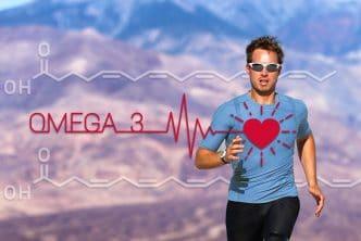 Apports en acides gras omega-3 pour les sportifs.