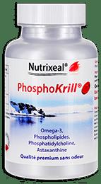 Phosphokrill Nutrixeal contient de l'huile de krill ultra pure.