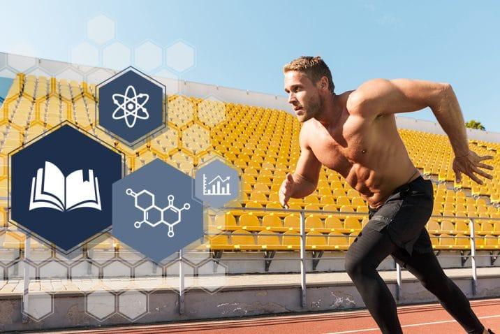 Publication scientifique ubiquinol coenzyme Q10 jeux olympiques.