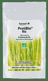 ProtiBio riz Nutrixeal, riche en protéines.