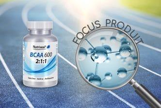 Focus produit sur les BCAA, acides aminés branchés, Nutrixeal.