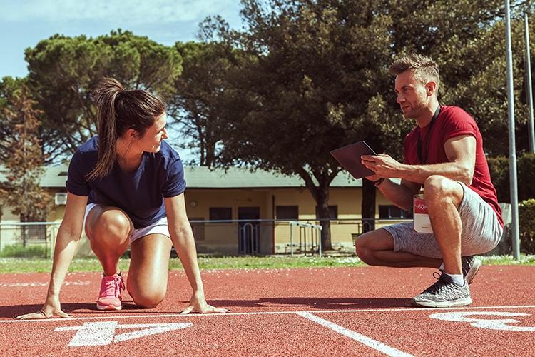 L'appui d'un entraineur permet de mettre en place un programme adapté.