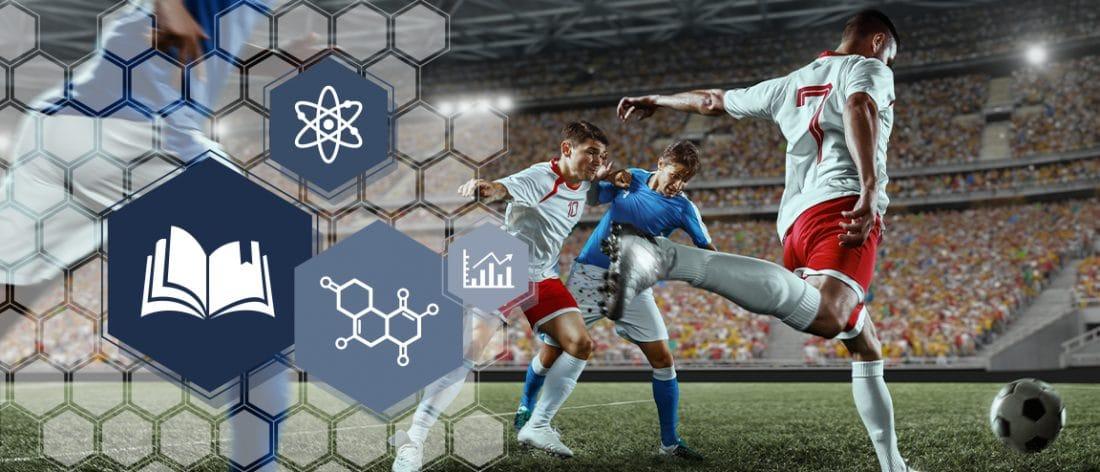 Coenzyme Q10 ubiquinol et football professionnel.
