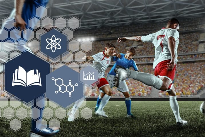 Coenzyme Q10 ubiquinol et football professionnel.