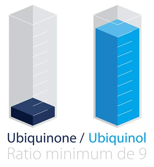 ratio ubiquinol ubiquinone Nutrixeal Sport Info